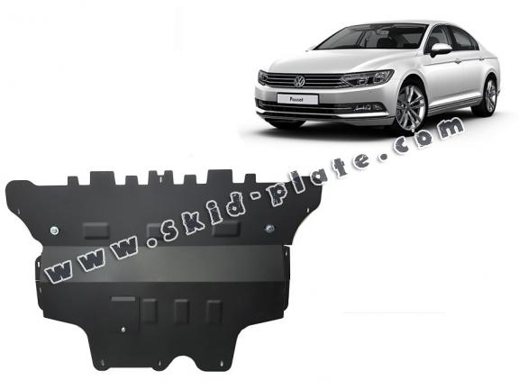 Steel skid plate for VW Passat B8 - automatic gearbox
