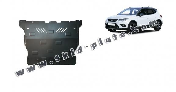 Steel skid plate for Seat Arona