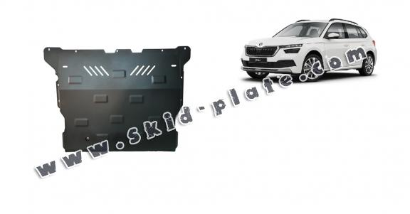 Steel skid plate for Skoda Kamiq