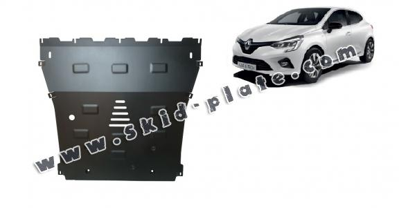 Steel skid plate for Renault Clio 5