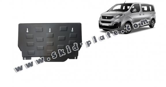 Steel skid plate for Peugeot Traveller MPV