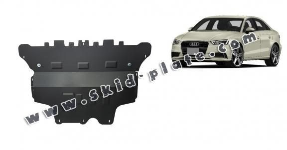 Steel skid plate for Audi A3 (8V) - automatic gearbox