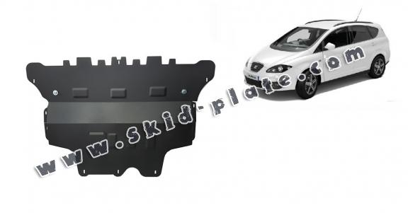 Steel skid plate for Seat Altea - automatic gearbox