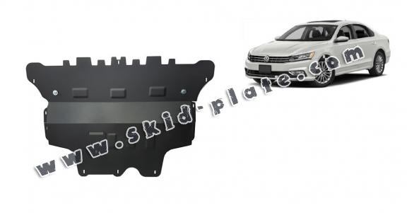 Steel skid plate for VW Passat Alltrack - automatic gearbox