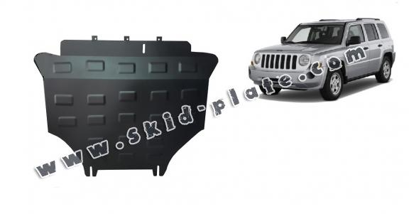 Steel skid plate for Jeep Patriot