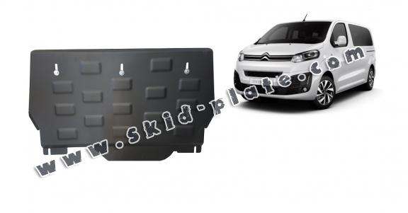 Steel skid plate for Citroen Spacetourer MPV