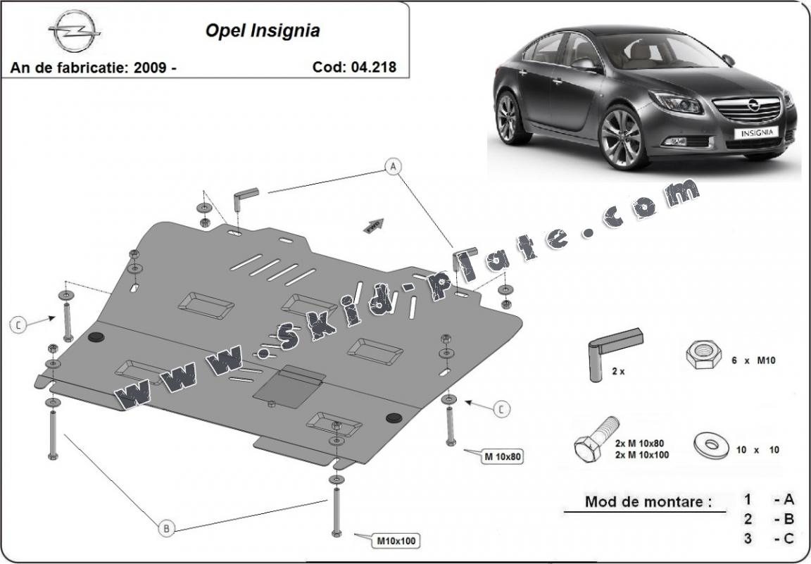 Cache protection Opel Insignia