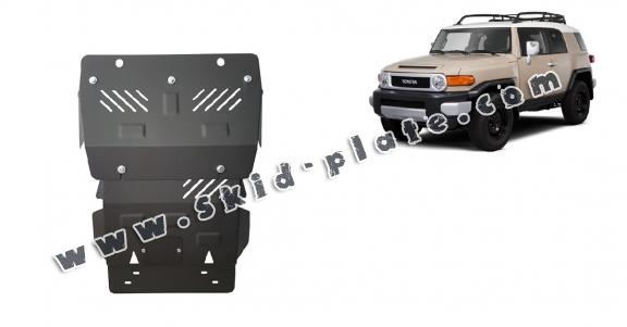 Steel skid plate for Toyota Fj Cruiser