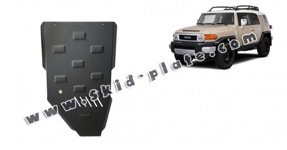 Steel gearbox skid plate for Toyota Fj Cruiser