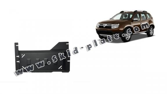 Steel DPF skid plate  for Dacia Duster