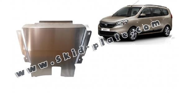 Aluminum skid plate for DACIA LODGY