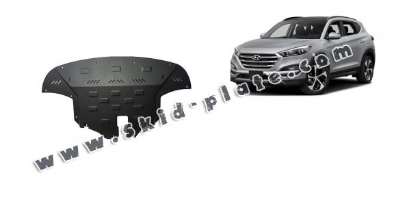 Steel skid plate for Hyundai IX35