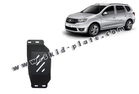 Steel skid plate for Stop&Go system, EGR  Dacia Logan MCV