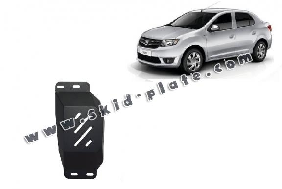 Steel skid plate for Stop&Go system, EGR  Dacia Logan 2
