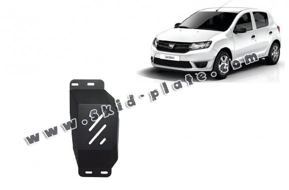 Steel skid plate for Stop&Go system, EGR  Dacia Sandero 2