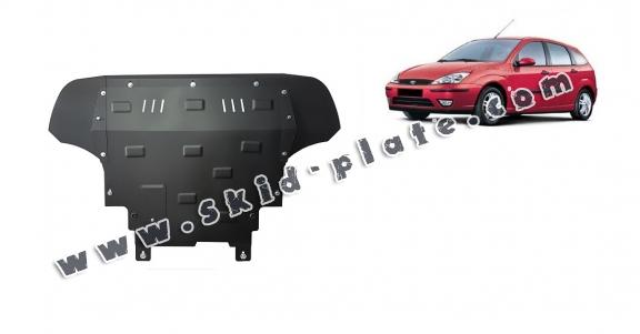 Steel skid plate for Ford Focus 1