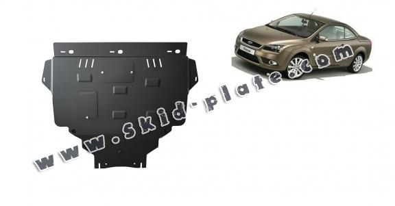 Steel skid plate for Ford Focus 2