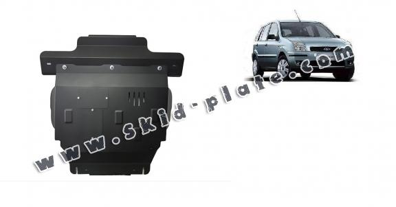 Steel skid plate for Ford Fusion