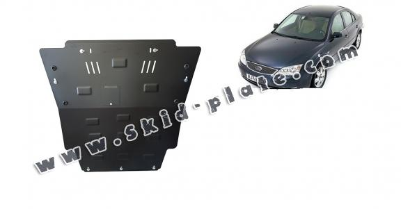 Steel skid plate for Ford Mondeo 3