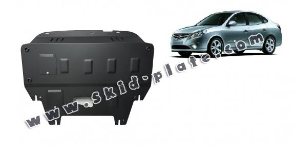 Steel skid plate for Hyundai Elantra 1
