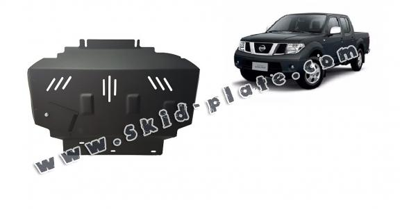 Steel skid plate for Nissan Navara