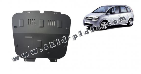 Steel skid plate for Opel Meriva