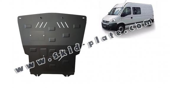 Steel skid plate for Opel Movano