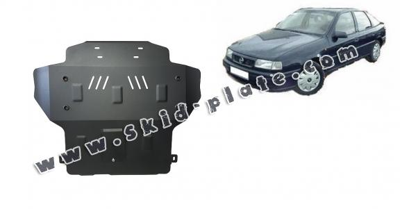 Steel skid plate for Opel Vectra A