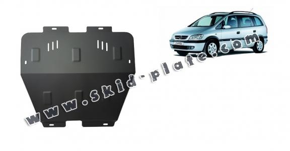 Steel skid plate for Opel Zafira