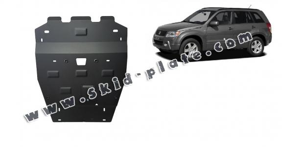 Steel skid plate for Suzuki Grand Vitara 2