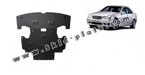 Steel skid plate for Mercedes C-Classe