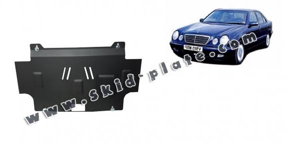 Steel skid plate for Mercedes E-Classe W210