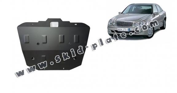 Steel skid plate for Mercedes E-Classe W211