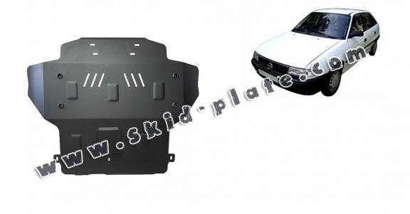 Steel skid plate for Opel Astra F