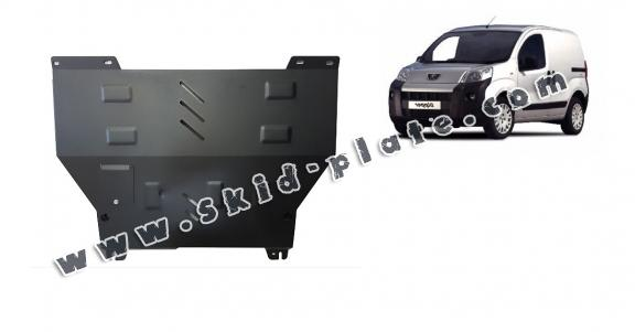 Steel skid plate for Peugeot Bipper