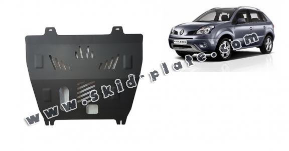 Steel skid plate for Renault Koleos