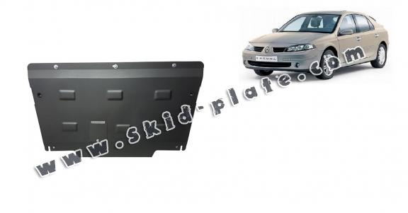 Steel skid plate for Renault Laguna 2