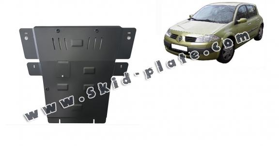 Steel skid plate for Renault Megane 2