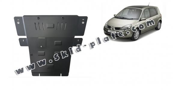 Steel skid plate for Renault Scenic