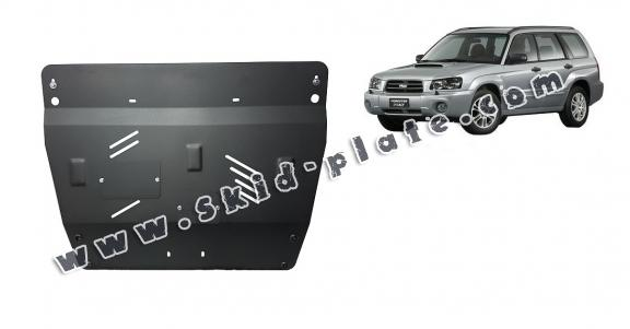 Steel skid plate for Subaru Forester 2