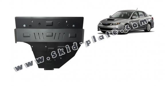 Steel skid plate for Subaru Impreza diesel