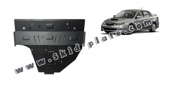 Steel skid plate for Subaru Impreza petrol