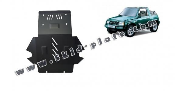 Steel skid plate for Suzuki Vitara