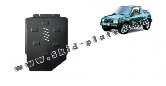 Steel gearbox skid plate for Suzuki Vitara