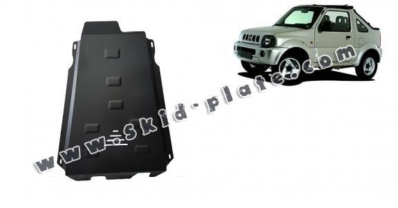 Steel gearbox skid plate for Suzuki Jimny