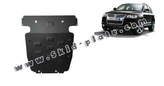 Steel skid plate for Volkswagen Touareg R5