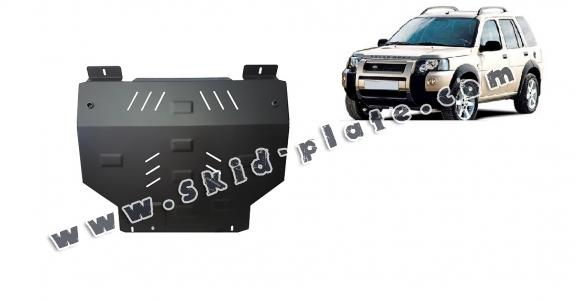 Steel skid plate for Land Rover Freelander