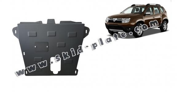 Steel skid plate for Dacia Duster
