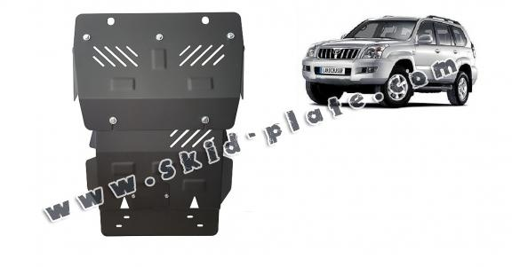 Steel skid plate for Toyota Land Cruiser J120