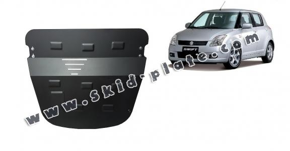 Steel skid plate for Suzuki Swift 3